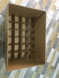 Cardboard box divider